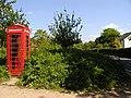 Telephone Box near Mottisfont - geograph.org.uk - 179001.jpg