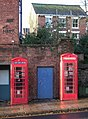 Telephone boxes, St David's Hill, Exeter - geograph.org.uk - 632040.jpg
