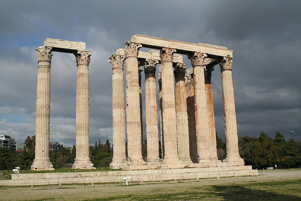 Temple of Olympian Zeus - Olympieion