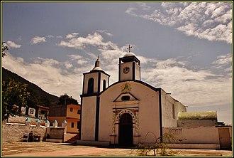 Aquila, Veracruz - Church of Our Lady of the Candelaria.