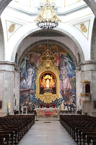 José Aguiar - Murals by Aguiar in the Basilica of Candelaria