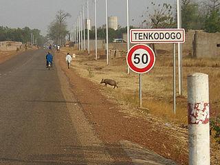 Tenkodogo Place in Centre-Est Region, Burkina Faso