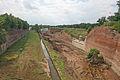 Terezín - Hlavní pevnost, úplné opevnění 01.JPG