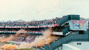 Stadio Libero Liberati - Image: Ternana Foligno 1983 84