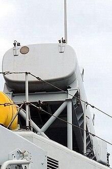 contenitore lanciatore del missile Teseo/OTOMAT della fregata Scirocco