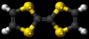 Tetrathiafulvalene - Image: Tetrathiafulvalene 3D balls