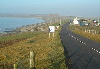 A847 road - The A847 at Uiskentuie