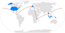 The Route Of 19th Amazing Race
