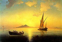 Ivan Aïvazovski: The Bay of Naples