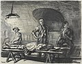 The Cellar in Contalmaison Chateau, August 1916 - the death of a hero Art.IWMART2045.jpg