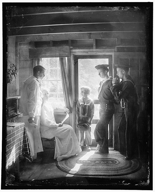 The Clarence White Family in Maine Gertrude Käsebier 1913