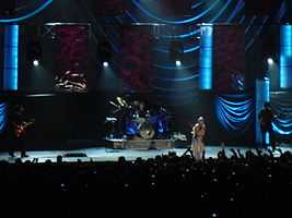 The Cranberries in Assago, Italy, 2010.
