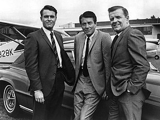 The F.B.I. (TV series) - L-R: William Reynolds, Efrem Zimbalist, Jr., and Philip Abbott (1969)