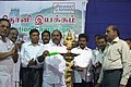 The Food Minister of Tamil Nadu, Shri A.V. Velu inaugurated the Bharat Nirman Public Information Campaign at Arani, Tiruvannamalai district, Tamil Nadu on August 27, 2008.jpg