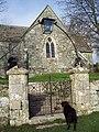 The Gate to St Marys Church, Alvediston - geograph.org.uk - 314375.jpg