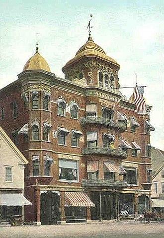 Fairfield, Maine - Image: The Gerald Hotel, Fairfield, ME