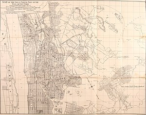 East Bronx - In 1895 the West Bronx already had many streets; the east had few