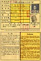 The Hong Eng, ethnic Chinese in Indonesia, ID card during Japanese occupation, 1943.jpg
