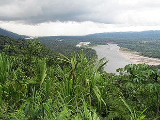 Timeline of Amazon history - View of Manú National Park in the Amazon Rainforest