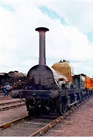 The Titfield Thunderbolt - Lion (seen here in May 1980) masqueraded as Thunderbolt for the film.