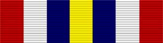 Søren Gade - Image: The Nordic Blue Berets Medal of Honour ribbon