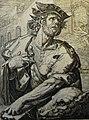 The Phillip Medhurst Picture Torah 271. Benjamin. Genesis cap 49 v 27. De Geyn.jpg