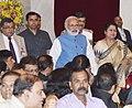 The Prime Minister, Shri Narendra Modi at a Civil Investiture Ceremony, at Rashtrapati Bhavan, in New Delhi on March 30, 2017.jpg