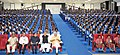 The Prime Minister, Shri Narendra Modi at the auditorium of Education City Jawanga, Dantewada Dantewada, in Chhattisgarh on May 09, 2015. The Chief Minister of Chhattisgarh, Dr. Raman Singh is also seen.jpg