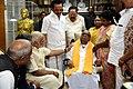 The Prime Minister, Shri Narendra Modi meeting DMK patriarch M. Karunanidhi, in Chennai on November 06, 2017.jpg