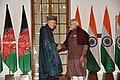 The Prime Minister, Shri Narendra Modi meeting the former President of the Islamic Republic of Afghanistan, Mr. Hamid Karzai, in New Delhi on December 16, 2017 (1).jpg