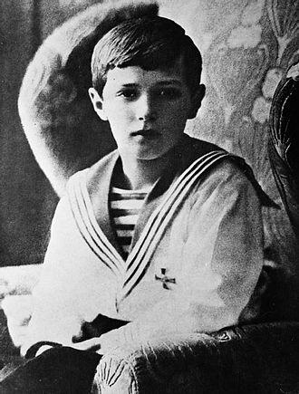 Alexei Nikolaevich, Tsarevich of Russia - Tsesarevich Alexei in 1913