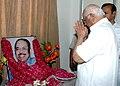 The Speaker, Lok Sabha, Shri Somnath Chatterjee paying homage to Late Shri Murasoli Maran on his 73rd birth anniversary, in New Delhi on August 17, 2007.jpg
