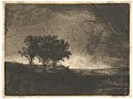 The Three Trees, after Rembrandt MET DP820859.jpg