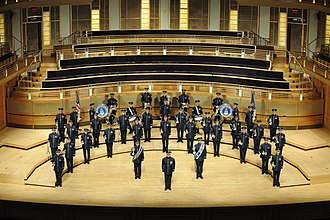 United States Air Force Band - The Ceremonial Brass is the official ceremonial ensemble of The United States Air Force.