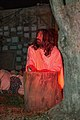 The agony of Jesus at the Passion Play of the Holy Shrine of the Divine Love, Rome, Italy.jpg