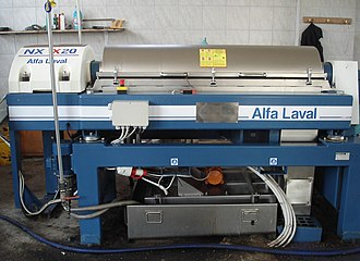 Alfa Laval - An Alfa Laval centrifuge used in olive oil production in Greece