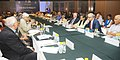 The former Governor of West Bengal Shri Gopalkrishna Gandhi addressing a one-day consultation on death penalty, organised by the Law Commission of India, in New Delhi on July 11, 2015.jpg