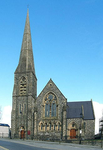Omagh - St. Columba's Church of Ireland in Omagh.