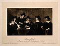 The governors of St Elizabeth's Hospital, Haarlem. Heliograv Wellcome V0006687.jpg