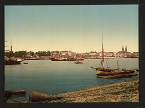 Il porto di Bordeaux tra il 1890 e il 1900