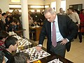 The legend of chess Garry Kasparov playing with young Tunisian players! (13308676395).jpg