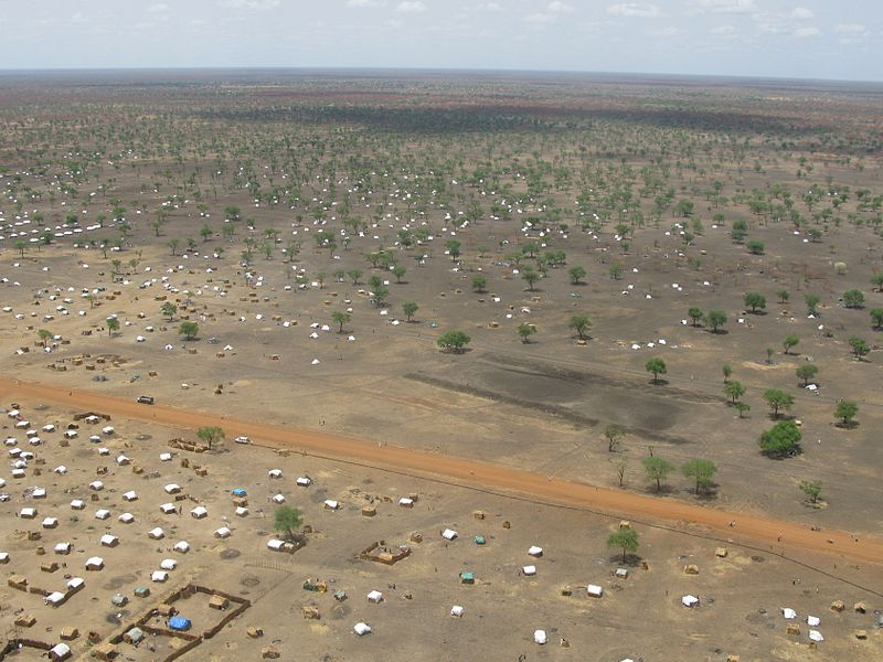 File:The scale of the problem Jamam refugee camp from the air (6972523516).jpg