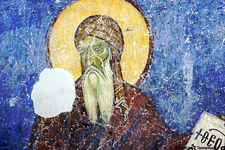 Theophanes the Branded Byzantine monk and hymnographer