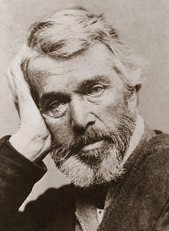 Thomas Carlyle - Photo by Elliott & Fry, circa 1860s