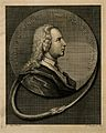 Thomas Wright. Line engraving by P. Fourdrinier after G. All Wellcome V0006387.jpg