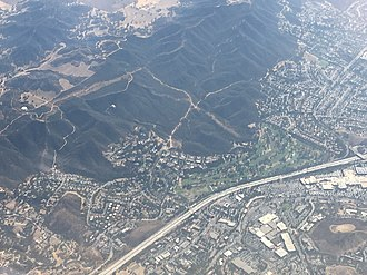 Aerial view of Thousand Oaks, southward view ThousandOaksAerial.jpg