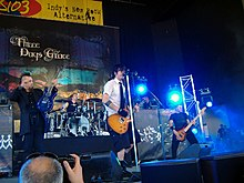Three Days Grace, live in 2006