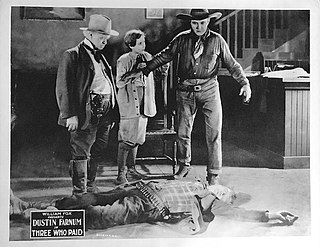 <i>Three Who Paid</i> 1923 silent Western film by Colin Campbell