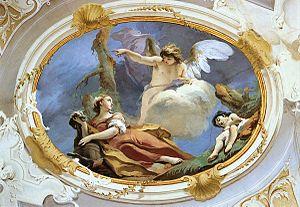 Hagar - Hagar in the Wilderness by Giovanni Battista Tiepolo.