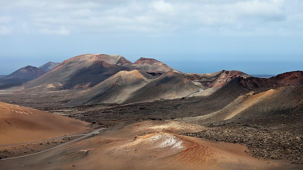 Timanfaya Volcano Park, Lanzarote, Spain